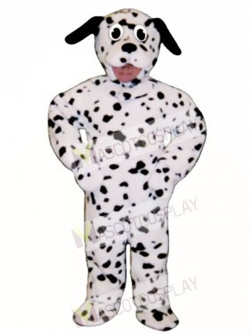 Cute Dalmation Dog Mascot Costume