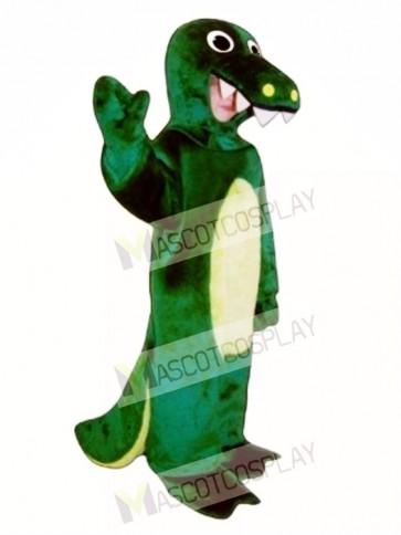 Cute Alligator Mascot Costume