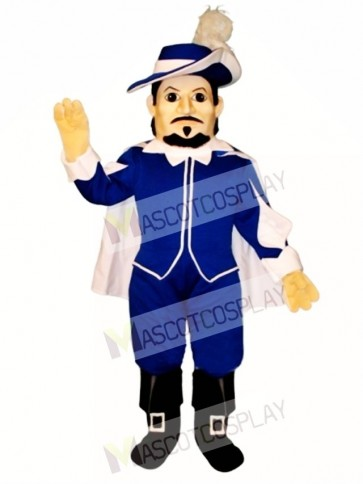 Spanish Captain Mascot Costume