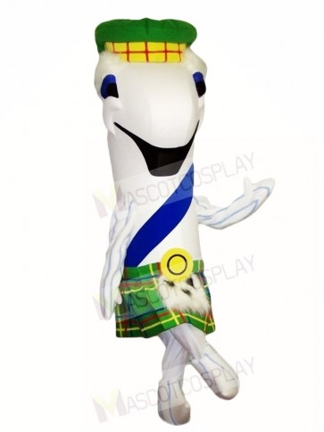 White Fish Mascot Costumes Sea Ocean