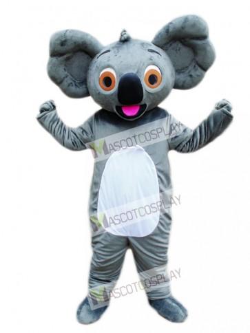 Koala with Red Tongue Mascot Costume
