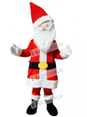 Father Christmas Santa Claus Xmas Mascot Costume