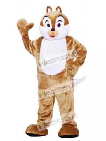 Brown Chipmunk Mascot Costume