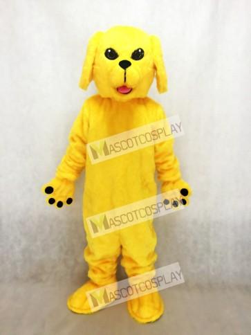 Golden Lab Dog Mascot Costume
