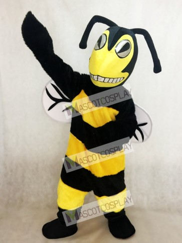 Black and Yellow Adult Bee/Hornet Mascot Costume