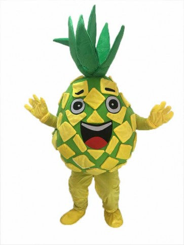Yellow Pineapple Pete Fruit Mascot Costumes