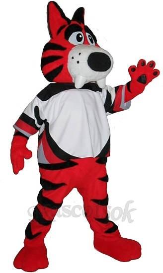 Sabretooth Custom Hockey Mascots