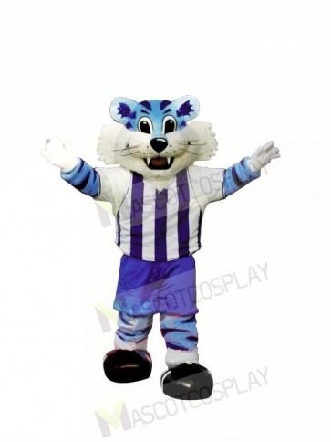 College Blue Tiger Mascot Costumes
