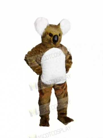 Brown Koala Adult Mascot Costumes Animal