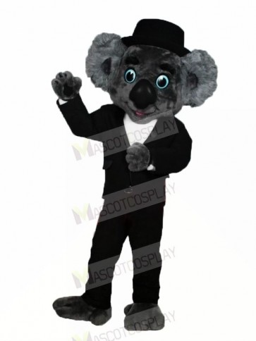 Gentleman Koala Mascot Costumes Cartoon