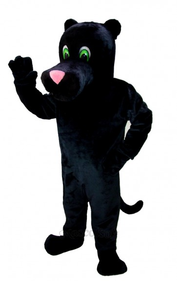 New Black Panther Mascot Costume