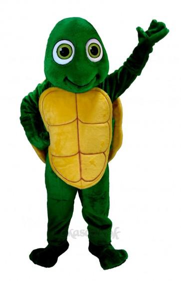New Happy Turtle Tortoise Mascot Costume