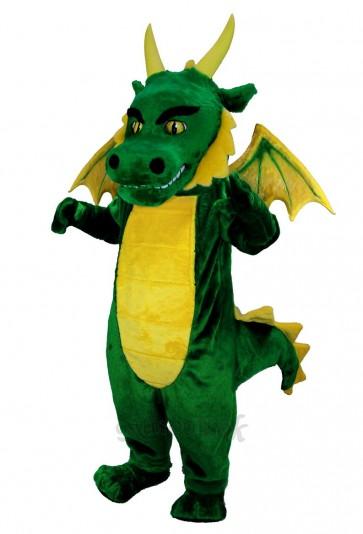 New Green Dragon Mascot Costume