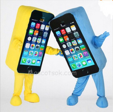 Cell Phone Apple iPhone Mascot Costume
