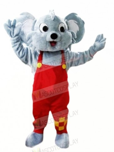 Happy Grey Koala Mascot Costumes Cheap