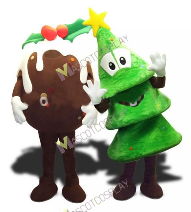 christmas mascot costumes