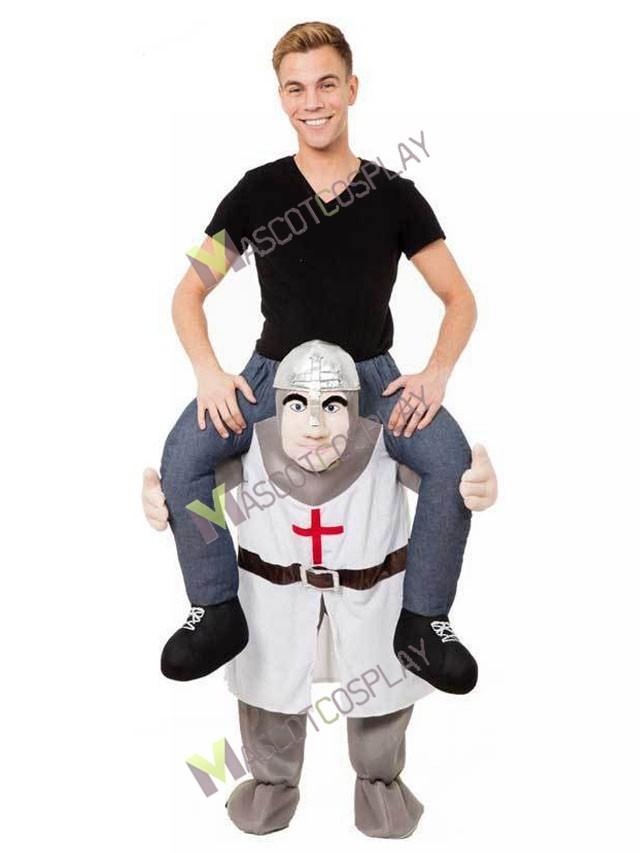 The Crusades Piggy Back Carry Me Mascot Costume Crusader Knight Fancy Dress  sc 1 st  MascotCosplay.com & The Crusades Piggy Back Carry Me Mascot Costume Crusader Knight ...