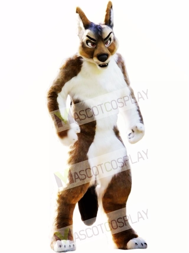 Fierce Fursuit Wolf Mascot Costume