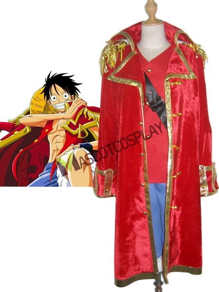 One Pieces Monkey D Luffy Cosplay Costume
