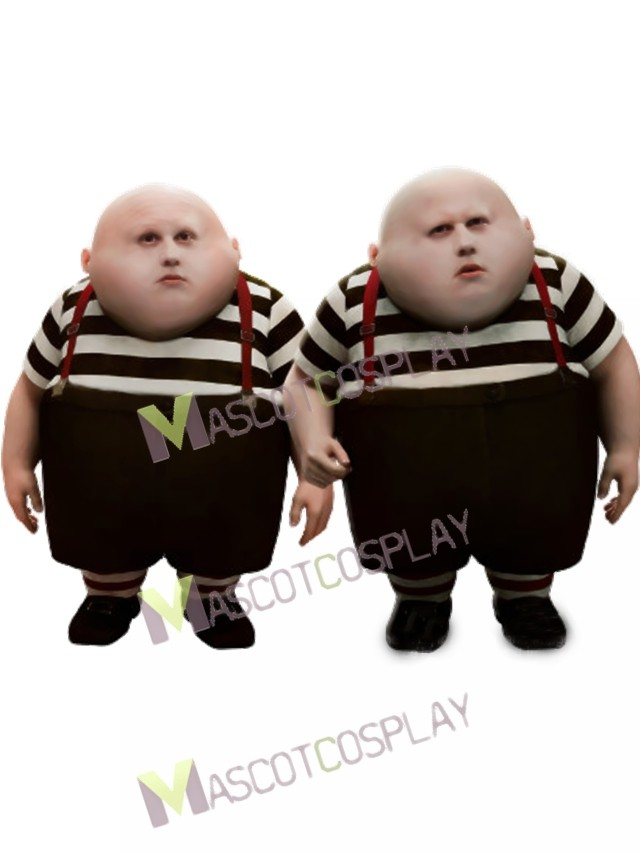 how to draw tweedle dee and tweedle dum