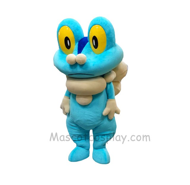 blue frog froakie mascot costume pokemon pok u00e9mon go pocket monster