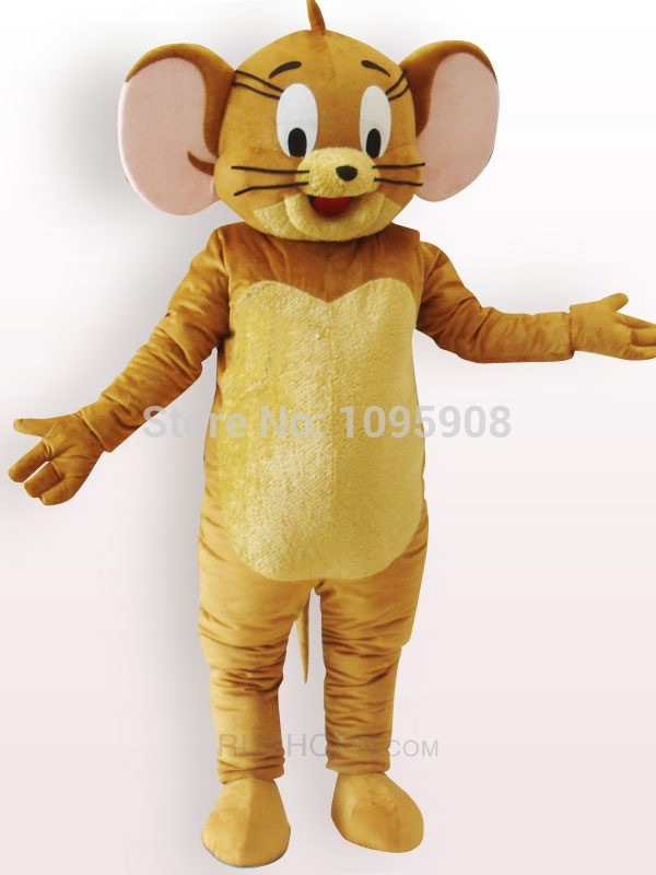 High Quality Jerry Rat Mascot Costume Tom and Jerry Mouse Mascot Costume Adult Party Carnival Christmas & Custom Mascot Costumes for Sale Schools Mascots Colleges Mascots ...
