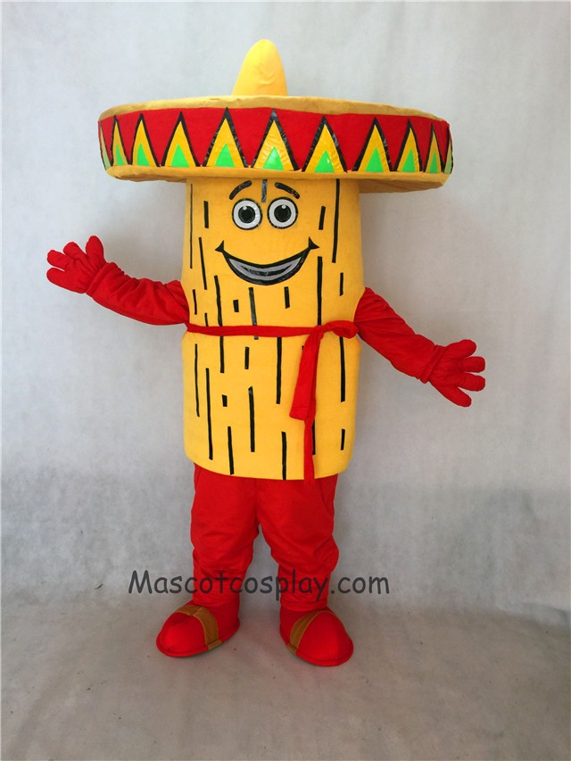 Custom Made Food Mexican Food Tamale Mascot Costume & Hot Sale Adorable Realistic New Custom Made Food Mexican Food Tamale ...