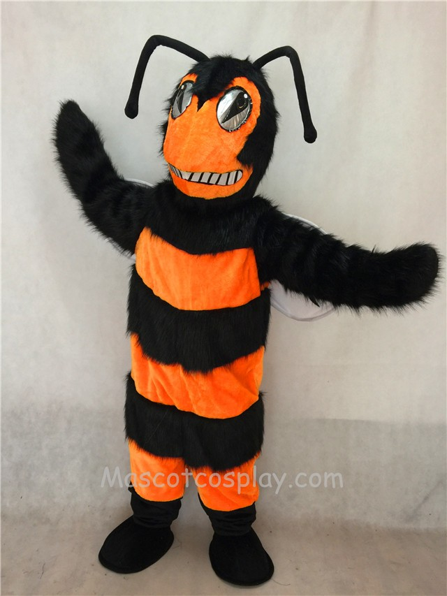 Orange and Black Bee/Hornet Mascot Costume : bee mascot costumes  - Germanpascual.Com