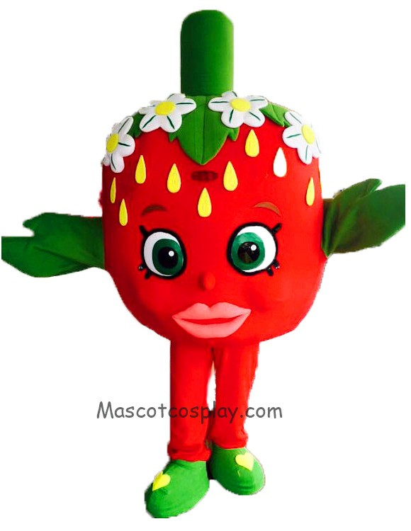 shopkins strawberry kiss classic halloween mascot costume