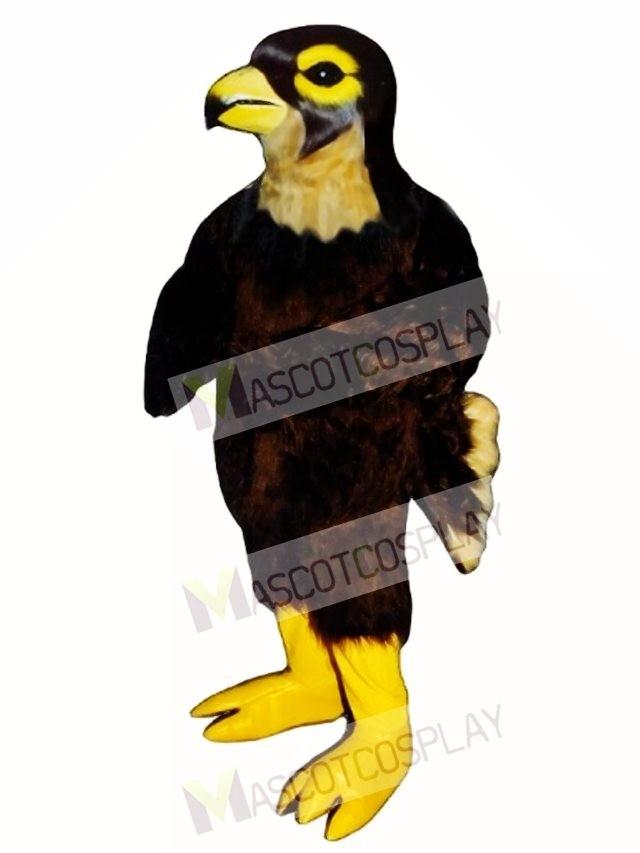 cute hawk falcon mascot costume