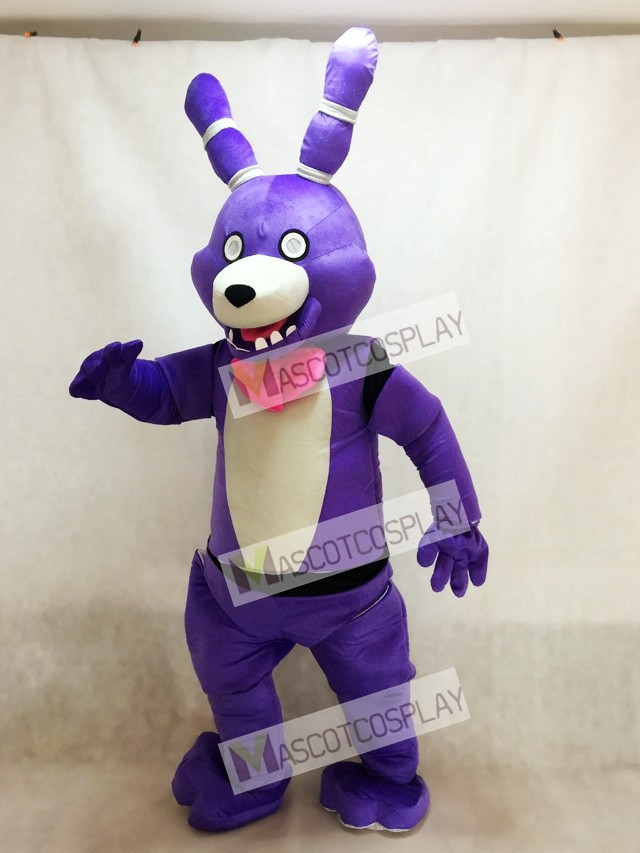 Fnaf Five Nights At Freddy S Bonnie The Bunny Mascot Costume
