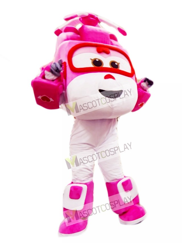 65 Mustang For Sale >> Pink and White Helicopter Dizzy Super Wings Mascot Costume