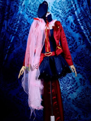 Cool Great Macross Frontier Sheryl Nome Cosplay Costume