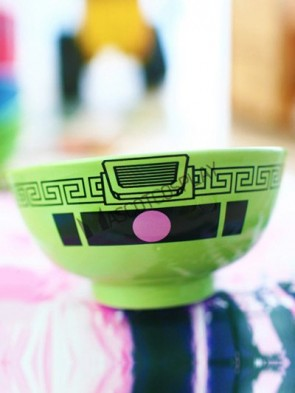Green Gundam Anime Ceramic Bowl