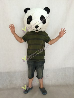 Plush Panda HEAD ONLY Mascot Costume