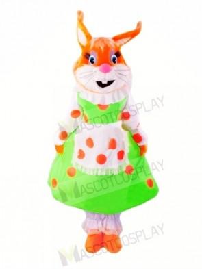 Super Cute Female Squirrel Mascot Costumes