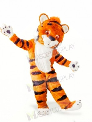 Cute Furry Tiger Mascot Costumes