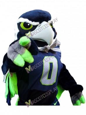 Seattle Seahawks Blitz the Seahawk BOOM the Seahawk Mascot Costumes Cheerleaders