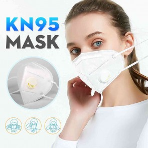 1 Piece KN95 Masks With breathing valve Filter Protective Mask