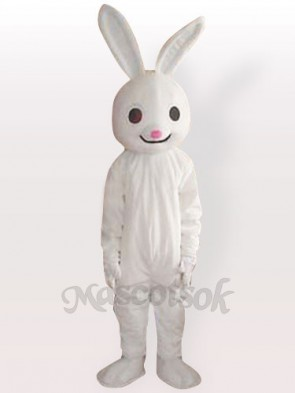 Pink Nose Easter Bunny Rabbit Adult Mascot Costume