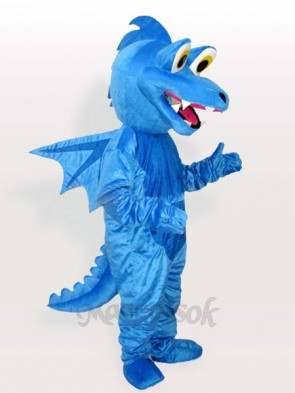 Blue Stegosaurus Adult Mascot Funny Costume