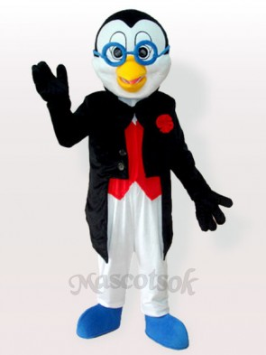 Doctor Penguin in Tuxedo Adult Mascot Costume