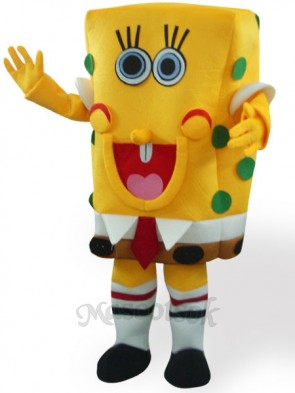 Sponge Baby Short Plush Adult Mascot Funny Costume
