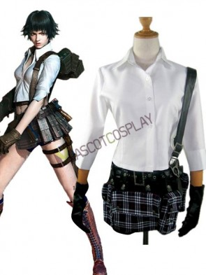 Devil May Cry 3: Dante's Awakening Lady Cosplay Costume