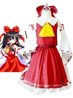 Phantasmagoria of Dim. Dream Reimu Cosplay Costume