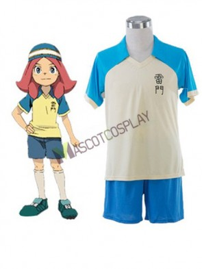 Cool Inazuma Eleven Rachel Naomi Remen Middle School Summer Football Boys Trikot Cosplay Costume