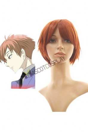 35cm Oran High School Host Club Kaoru Hitachiin Cosplay Wig
