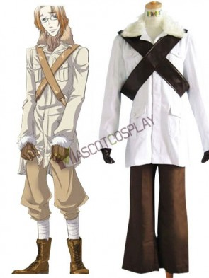 Hetalia: Axis Powers Canada Matthew  Cosplay Costume