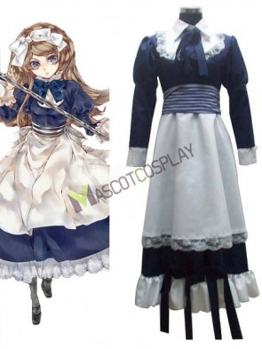 Axis Powers Byelorussia Natasha Alfroskaya Cosplay Costume