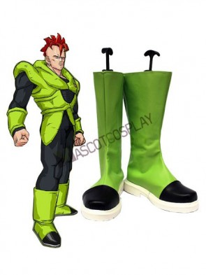 Dragon Ball Android Imitated Leather Cosplay Shoes